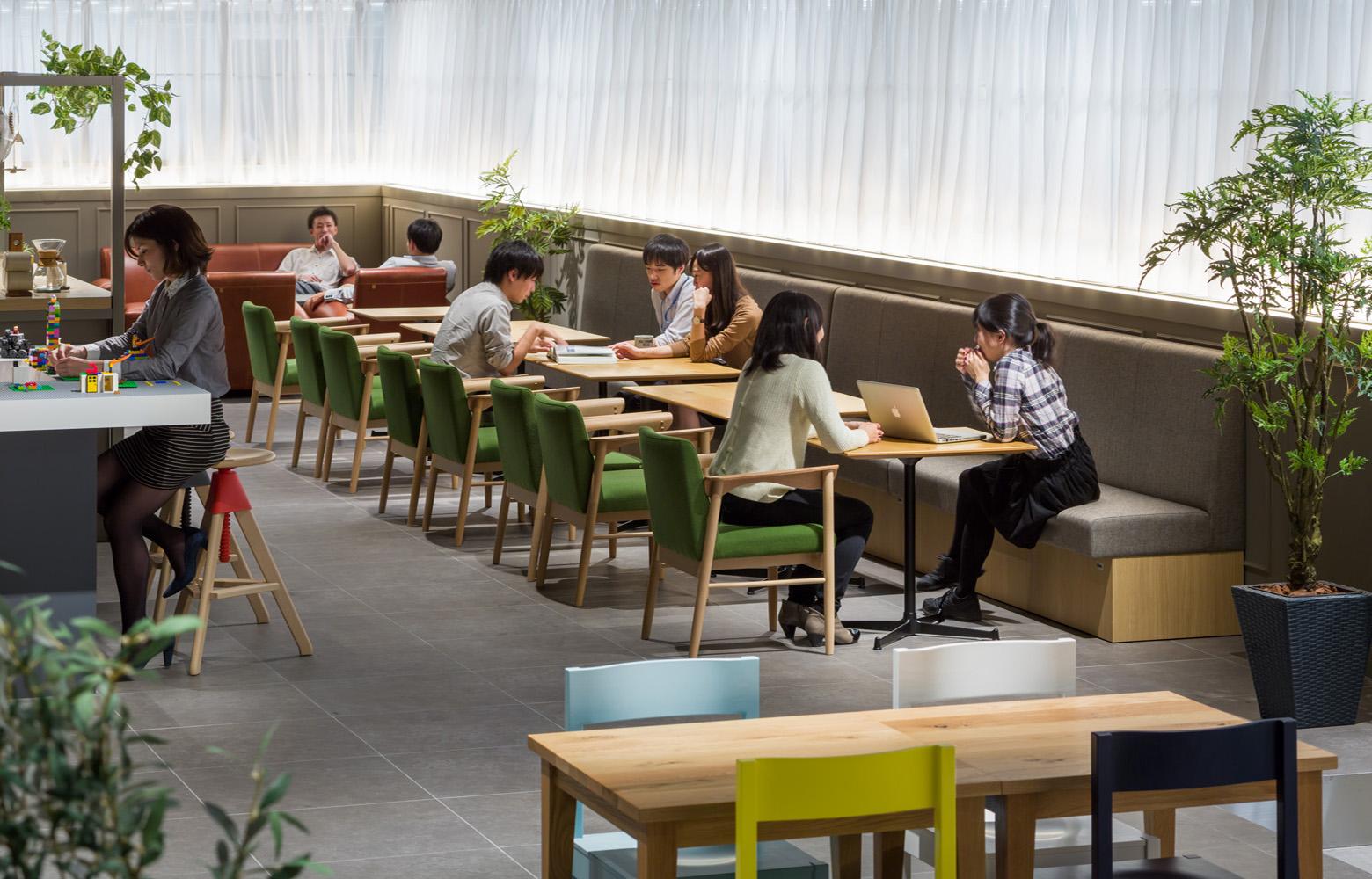 株式会社NTTデータMSE Yokohama Office Innovation Room_3 デザイン・レイアウト事例