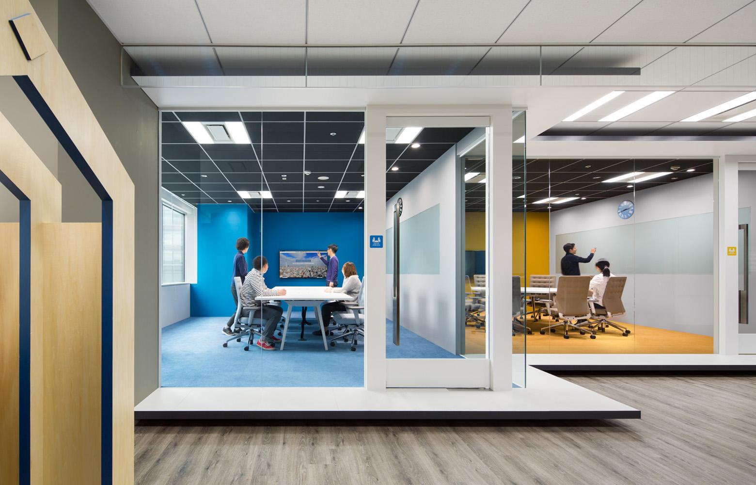 株式会社NTTデータMSE Yokohama Office Meeting Room_2 デザイン・レイアウト事例