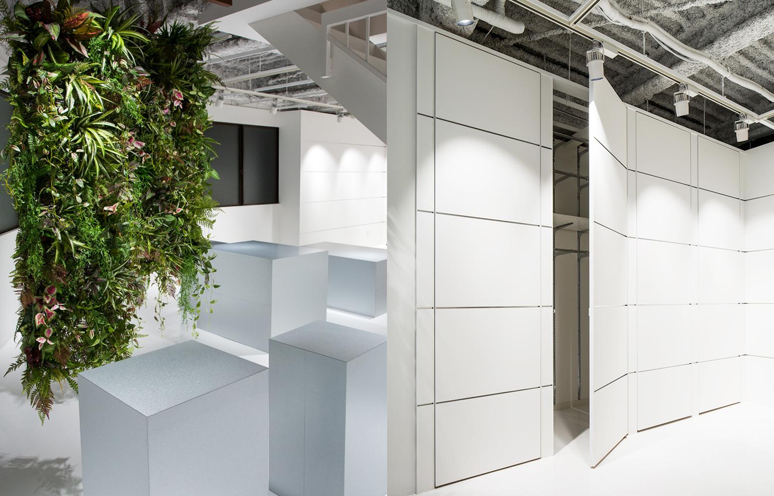 株式会社三景 Green & Storage デザイン・レイアウト事例