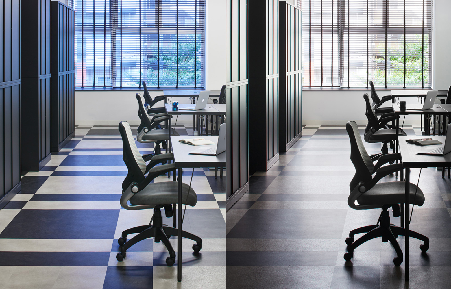 株式会社エクスプレス・エージェント Work Space_3 デザイン・レイアウト事例