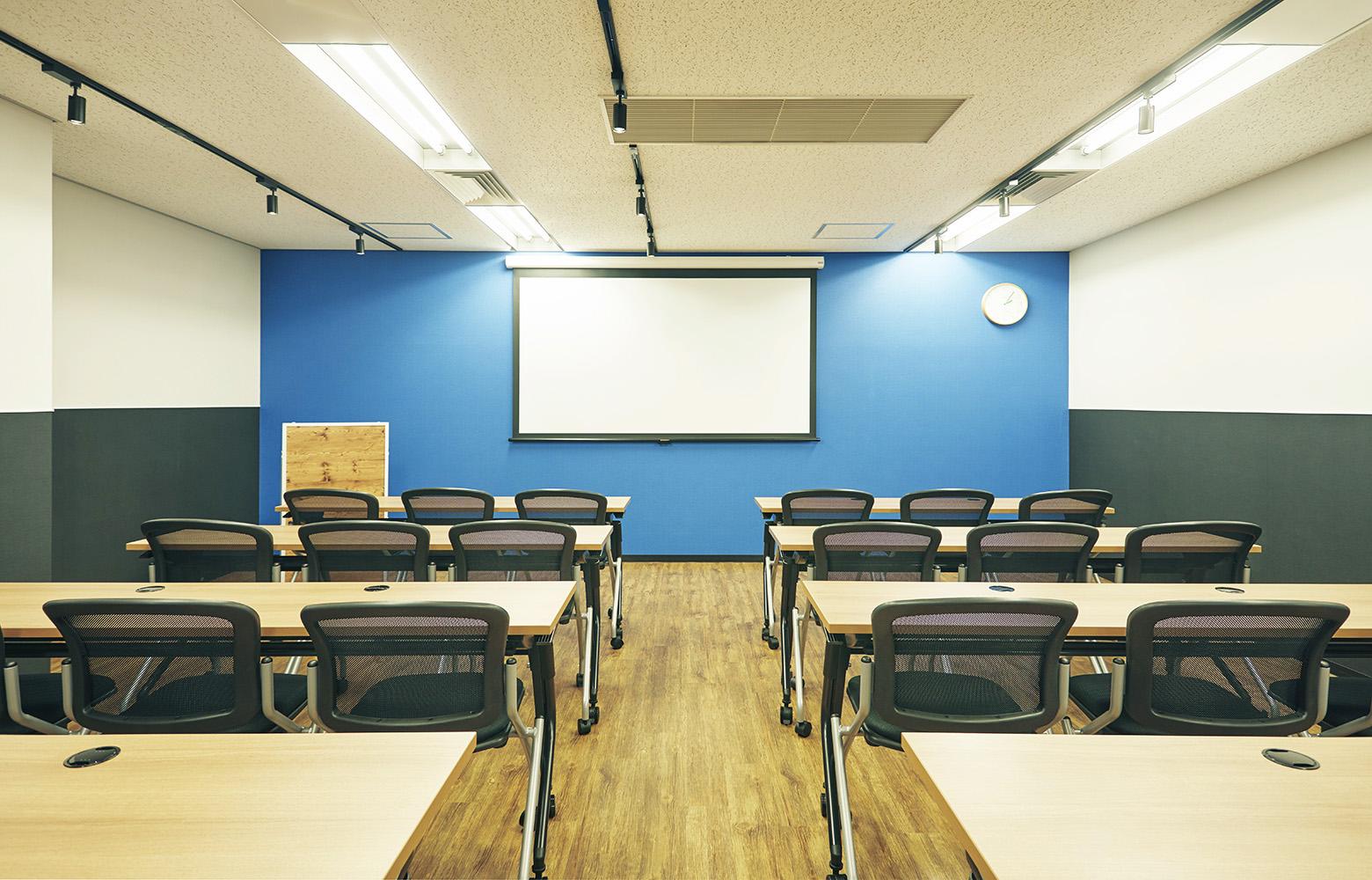 株式会社アット・アップ Seminar Room デザイン・レイアウト事例