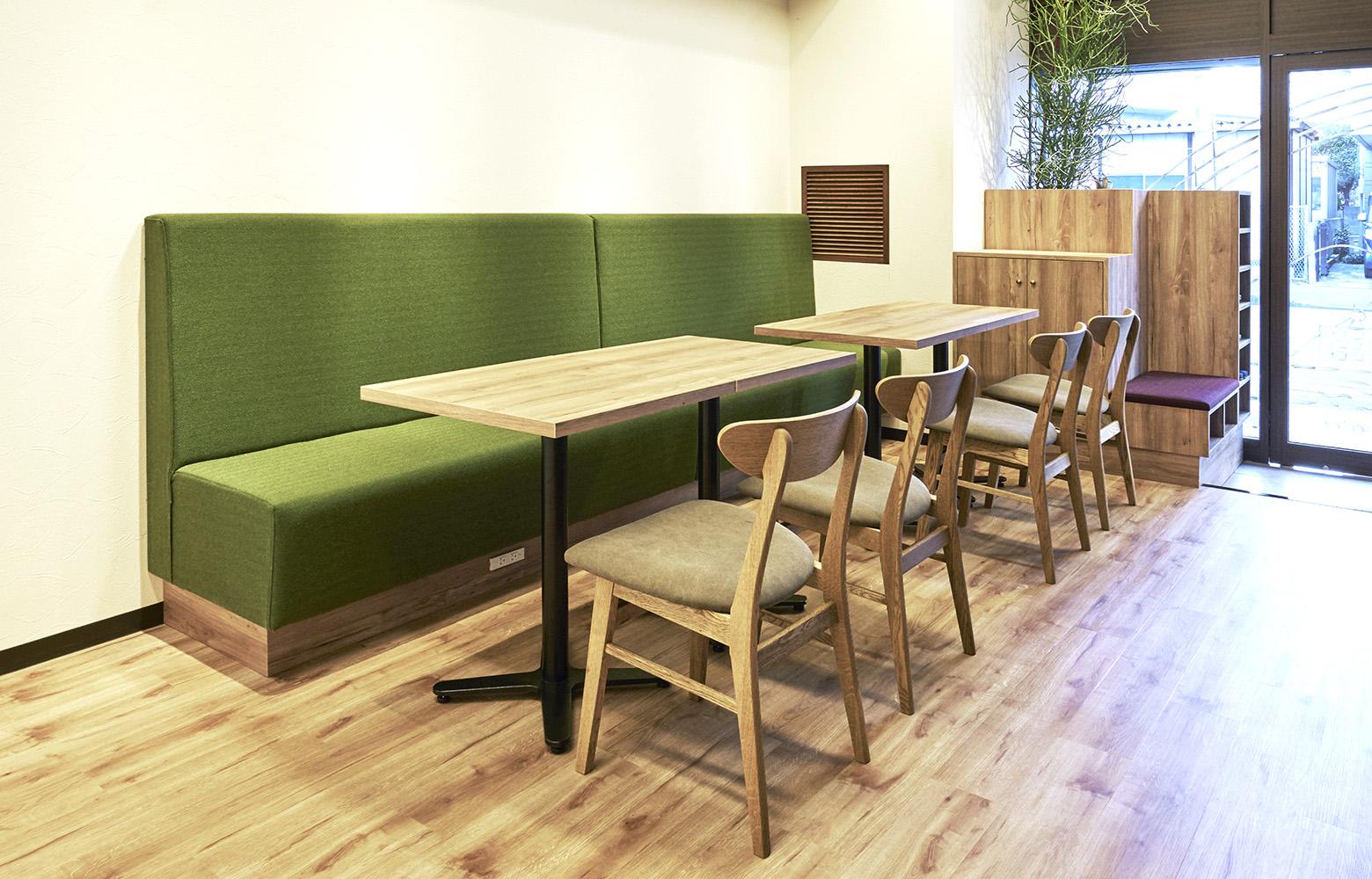 株式会社KAZE&Co. Cafe Space デザイン・レイアウト事例
