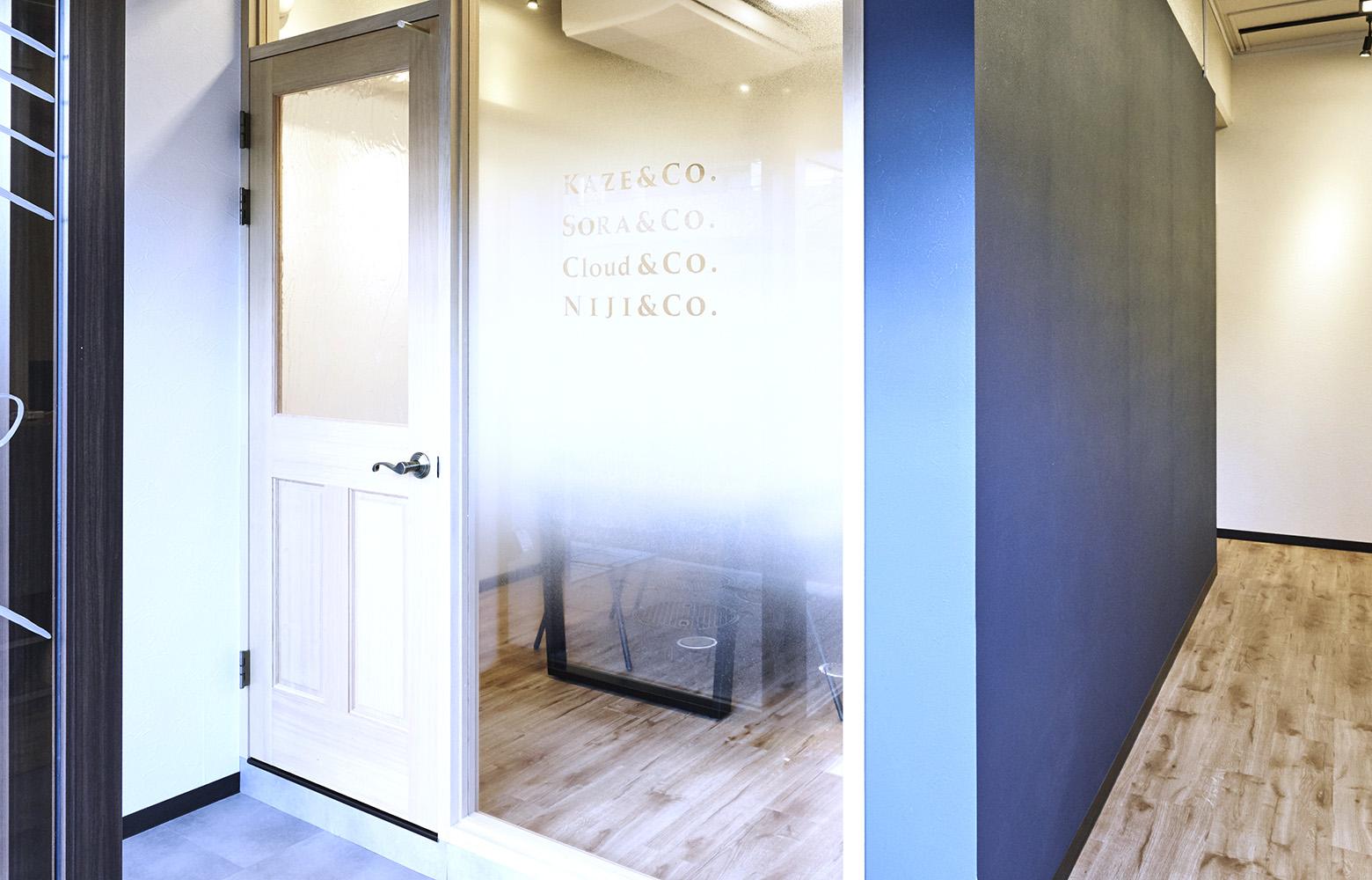 株式会社KAZE&Co. Meeting Room_2 デザイン・レイアウト事例