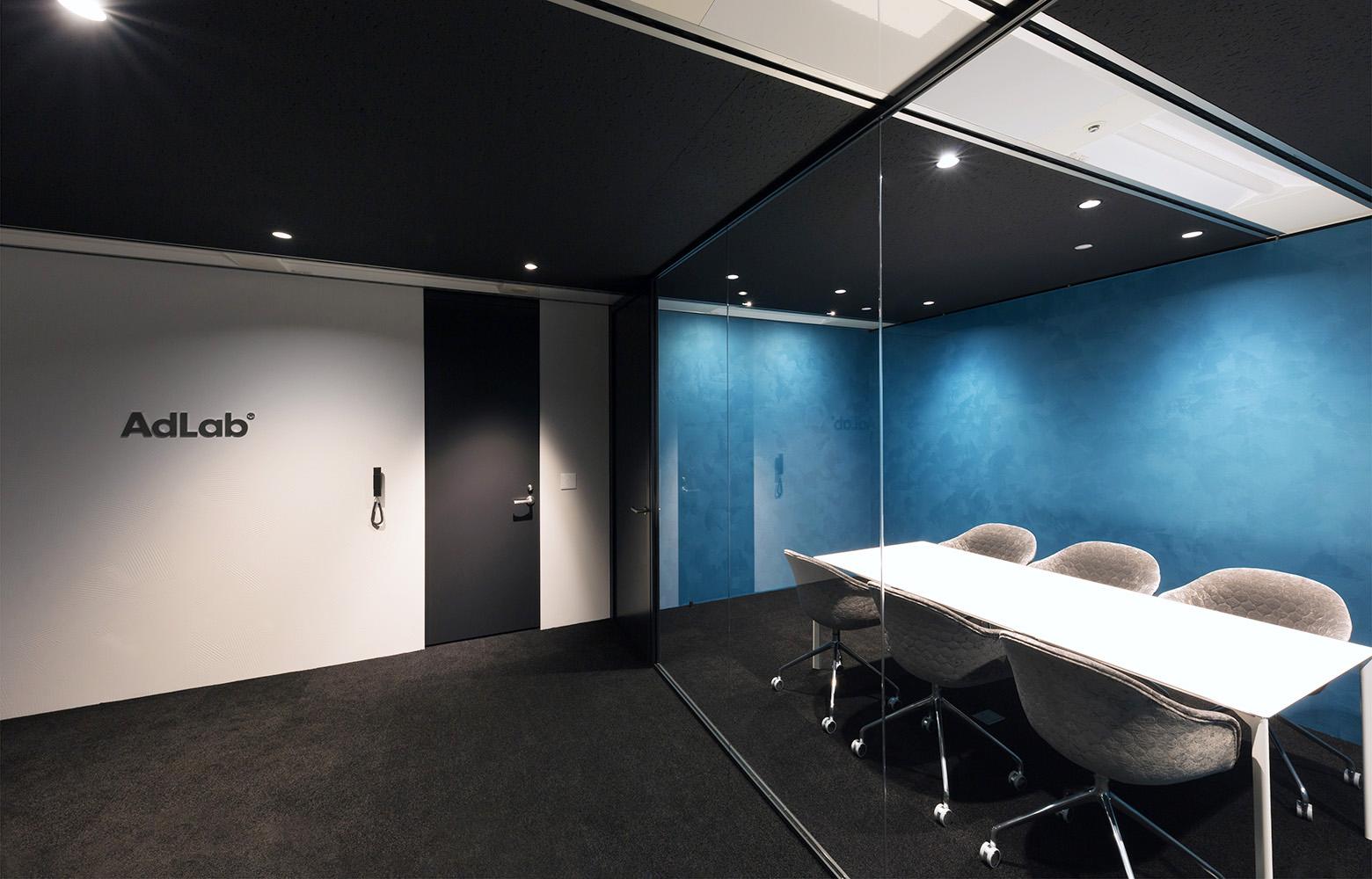 株式会社 AdLab Entrance_3 デザイン・レイアウト事例