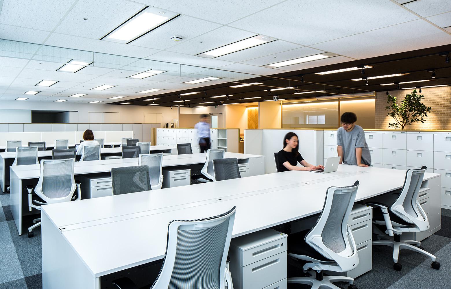 セントラル技研株式会社 Work Space デザイン・レイアウト事例