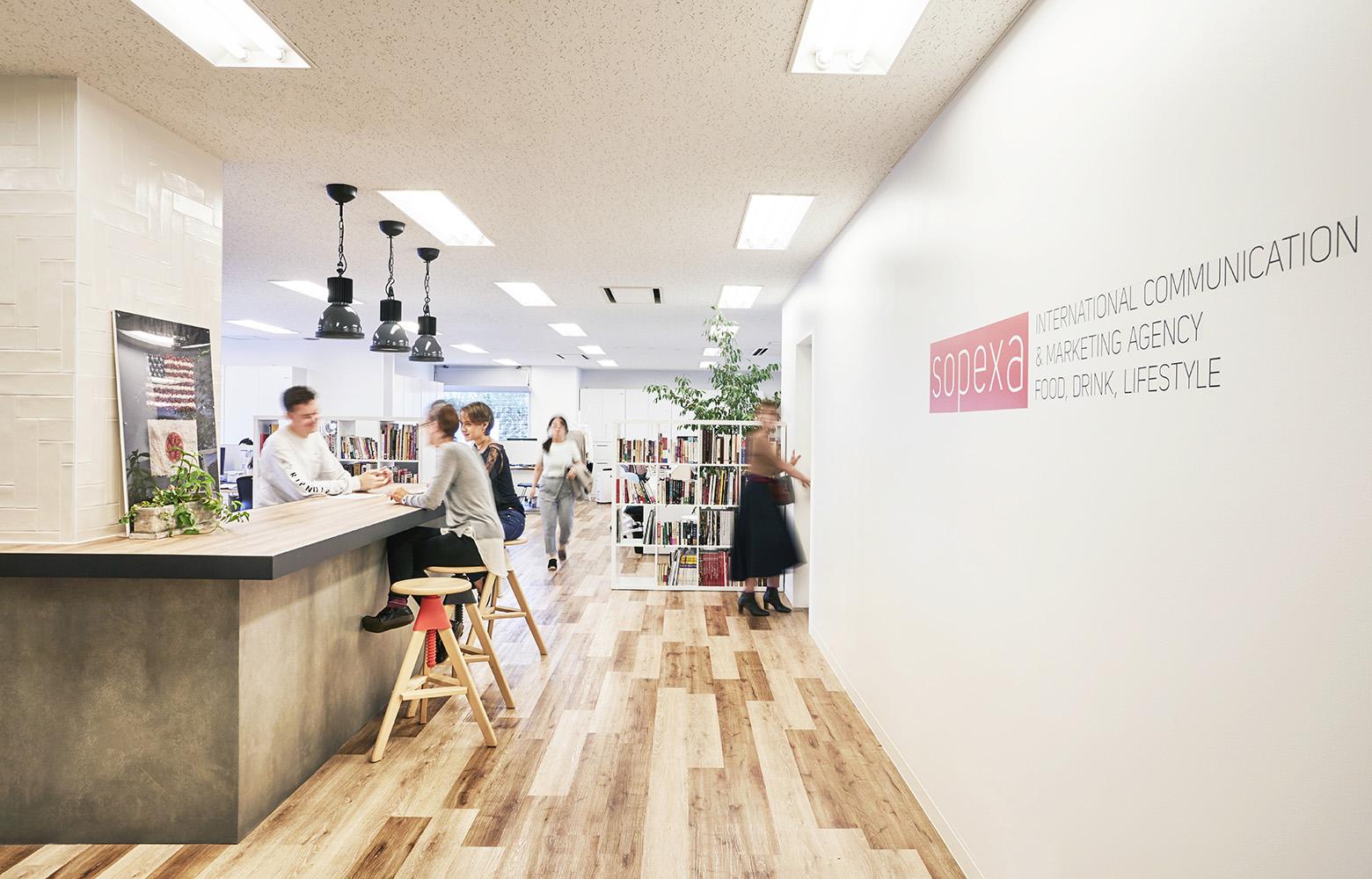 Sopexa Japon 株式会社 Refresh Space_2 デザイン・レイアウト事例