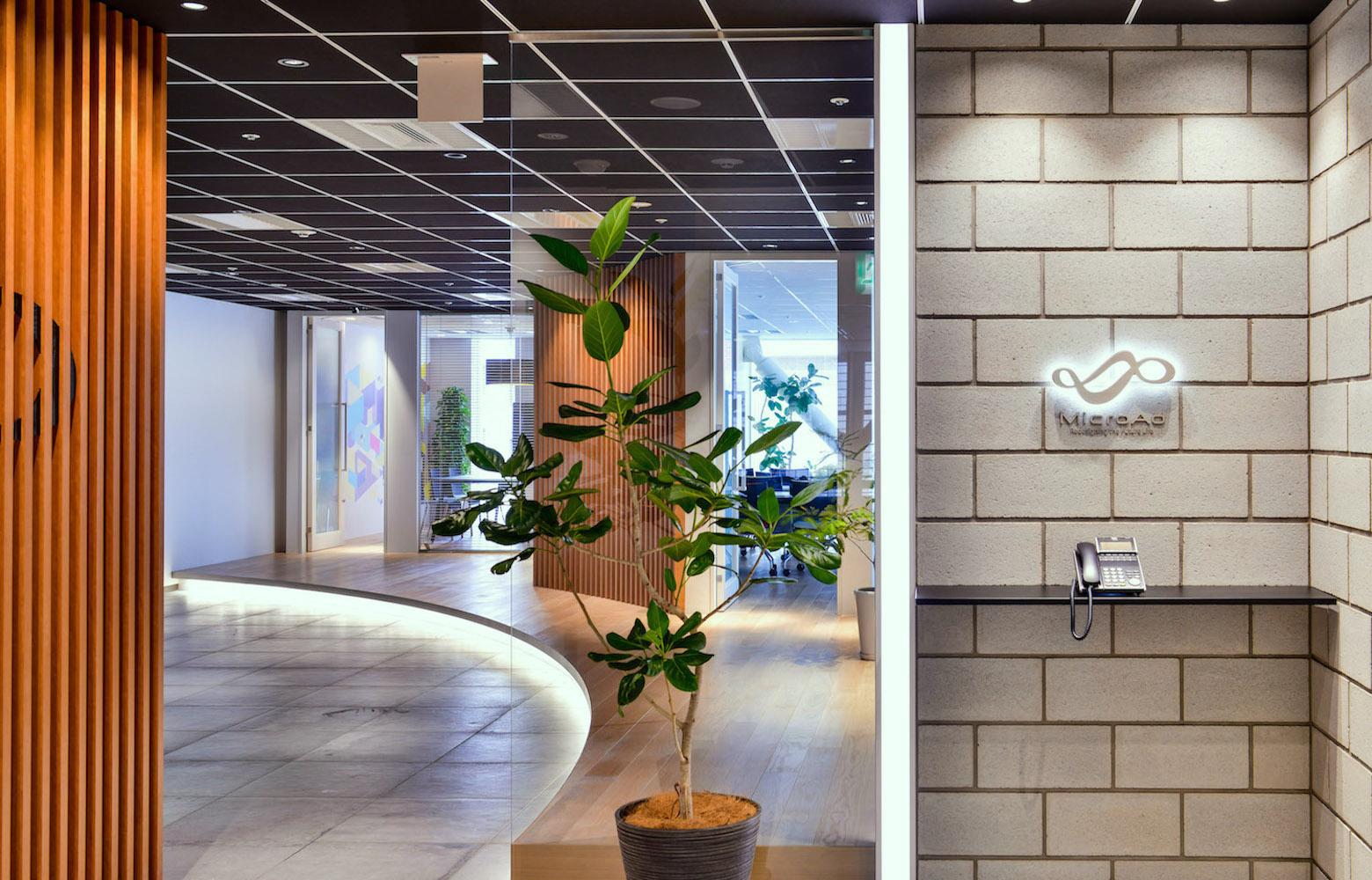 株式会社マイクロアド Vol.2 Entrance デザイン・レイアウト事例