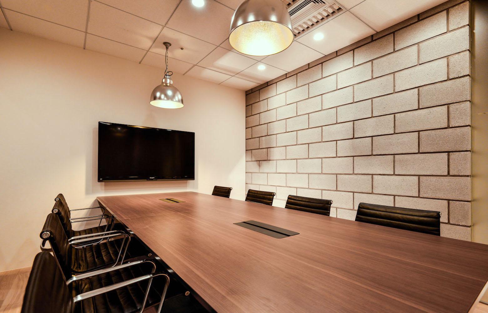 株式会社マイクロアド Vol.2 Meeting Room デザイン・レイアウト事例