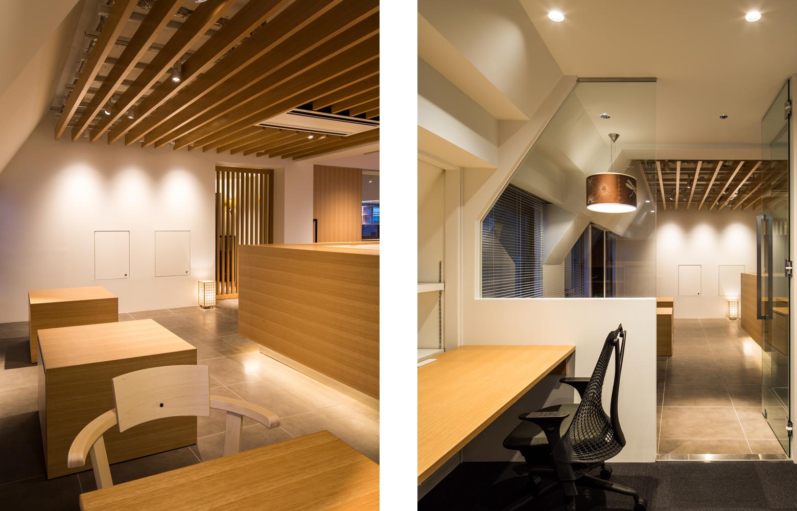 桂屋ファイングッズ株式会社 Showroom_4 & Glass デザイン・レイアウト事例