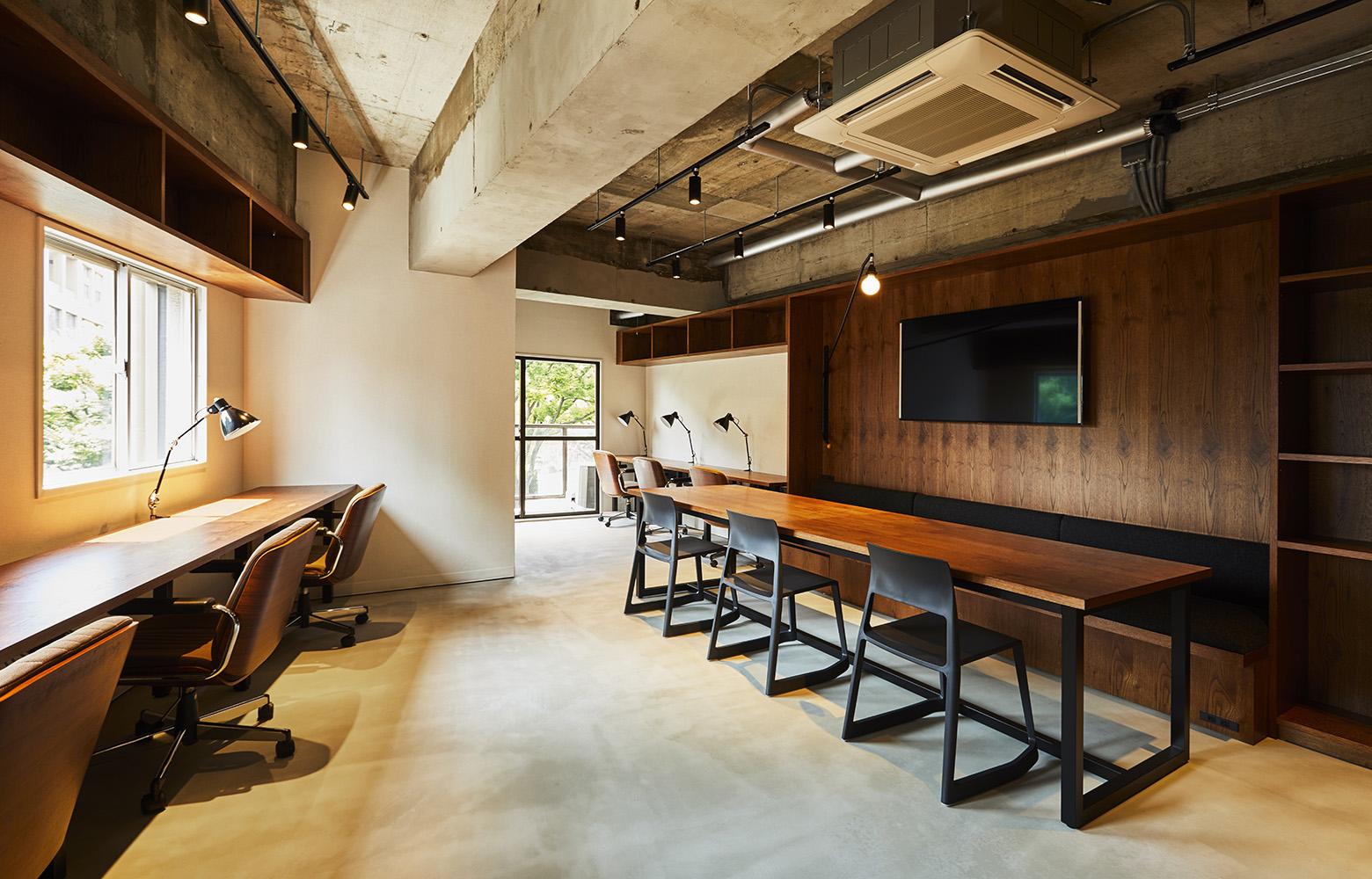 Quebico株式会社 Work Space デザイン・レイアウト事例