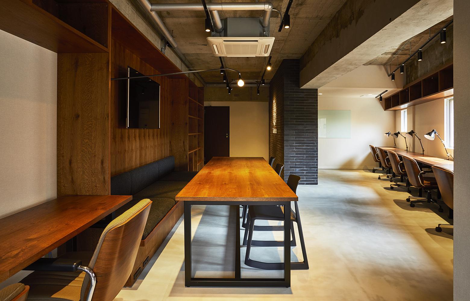 Quebico株式会社 Meeting Space_2 デザイン・レイアウト事例