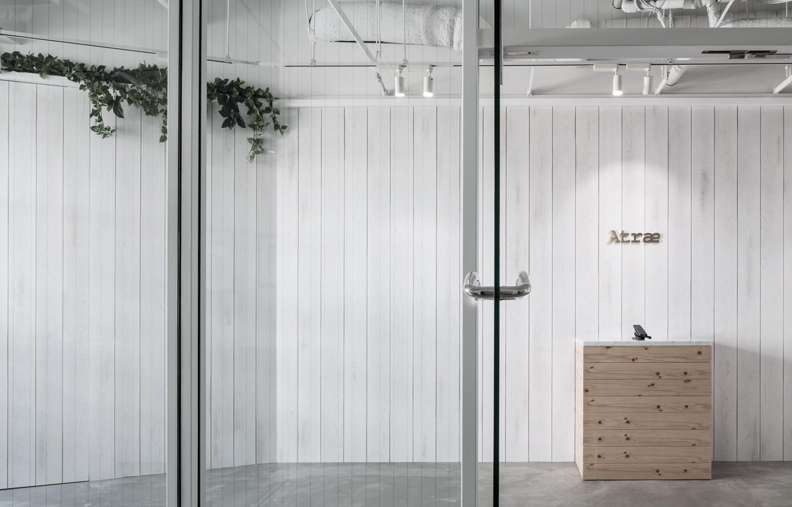 株式会社アトラエ vol.2 Entrance デザイン・レイアウト事例
