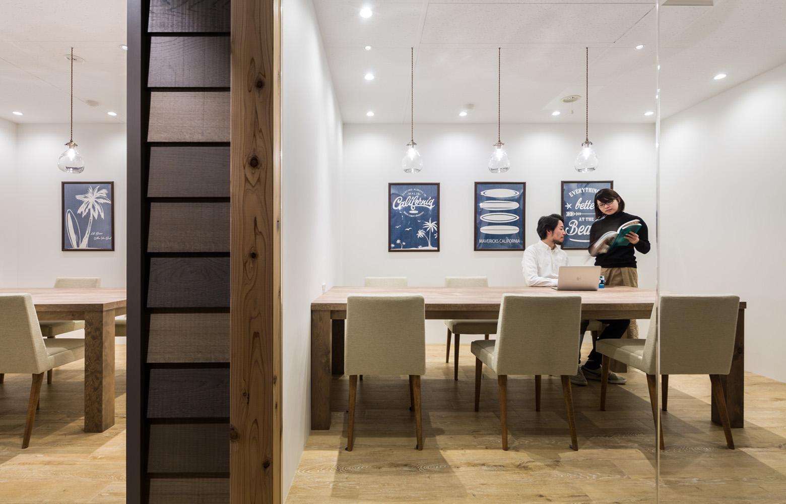 株式会社アトラエ vol.2 Meeting Room_2 デザイン・レイアウト事例