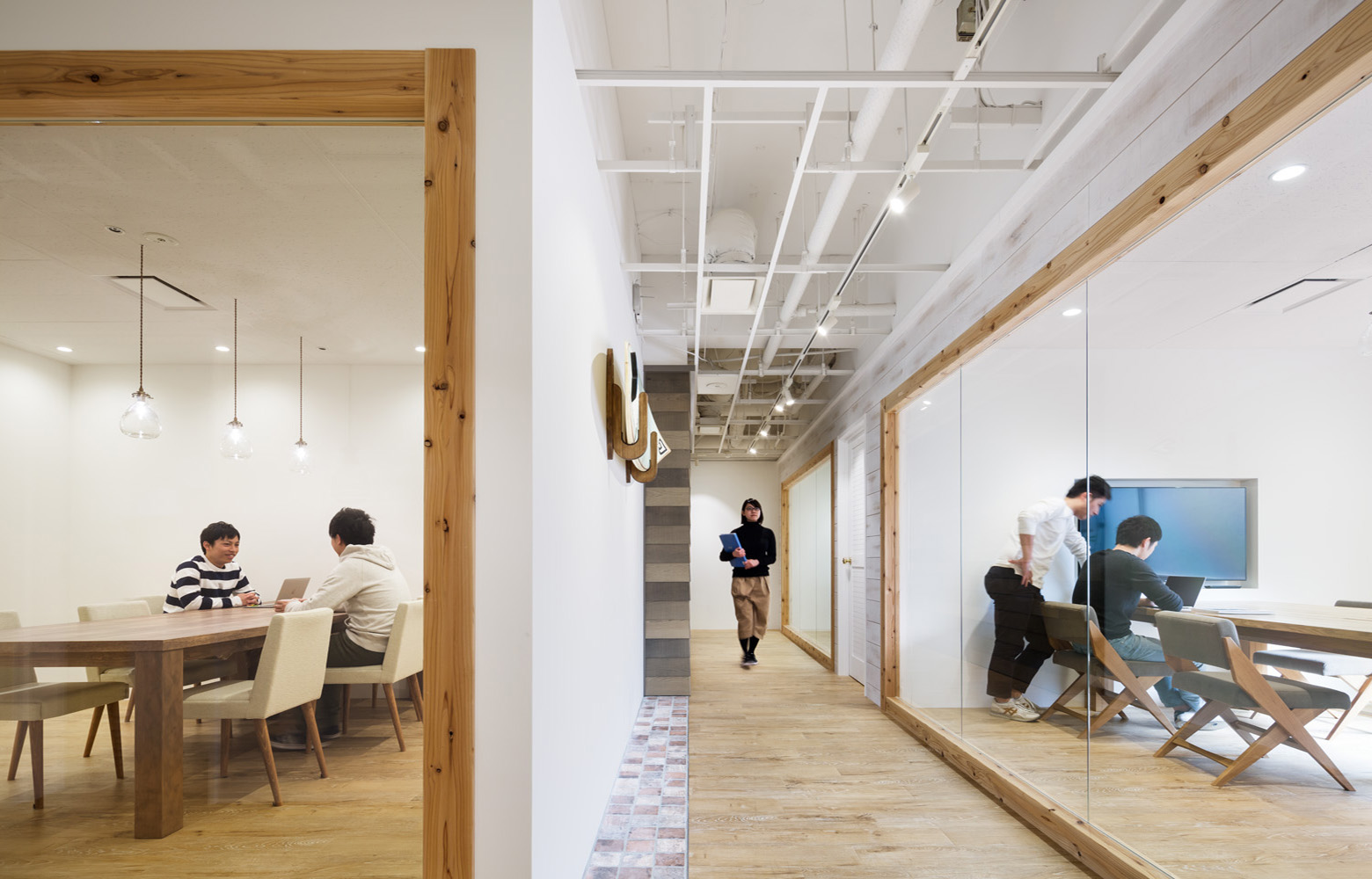 株式会社アトラエ vol.2 Meeting Room デザイン・レイアウト事例