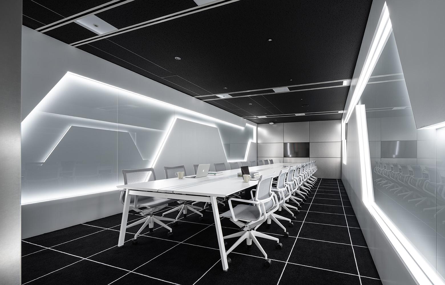 株式会社NTTデータMSE Shinagawa Office Reception Room デザイン・レイアウト事例