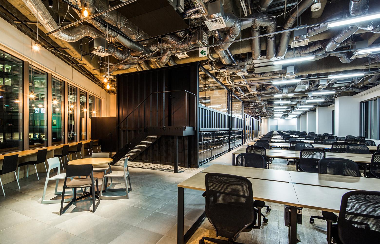 KLab株式会社(Laboratory Office) Work Space_2 & Locker デザイン・レイアウト事例