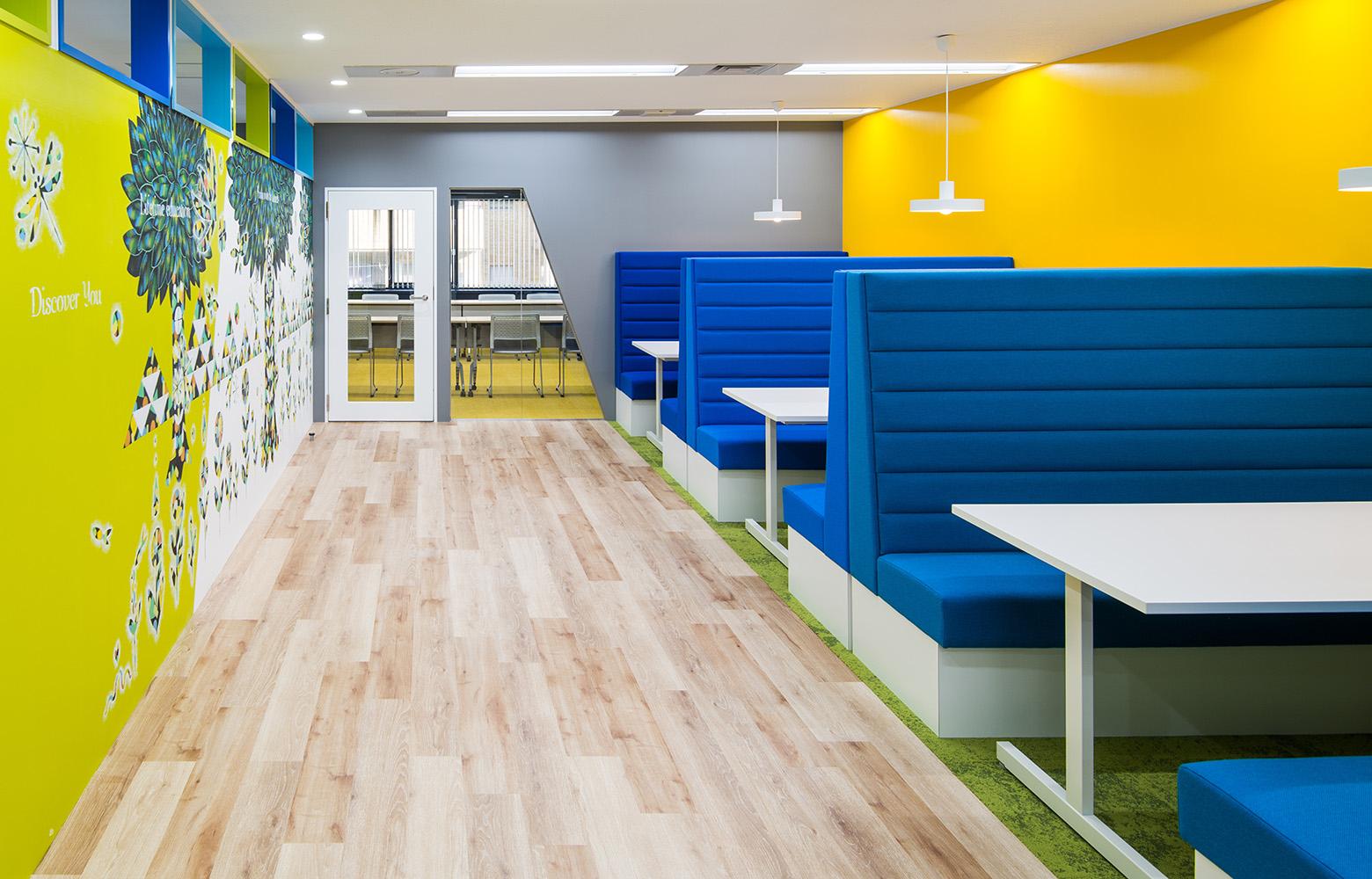 株式会社学研エル・スタッフィング Meeting Booth デザイン・レイアウト事例