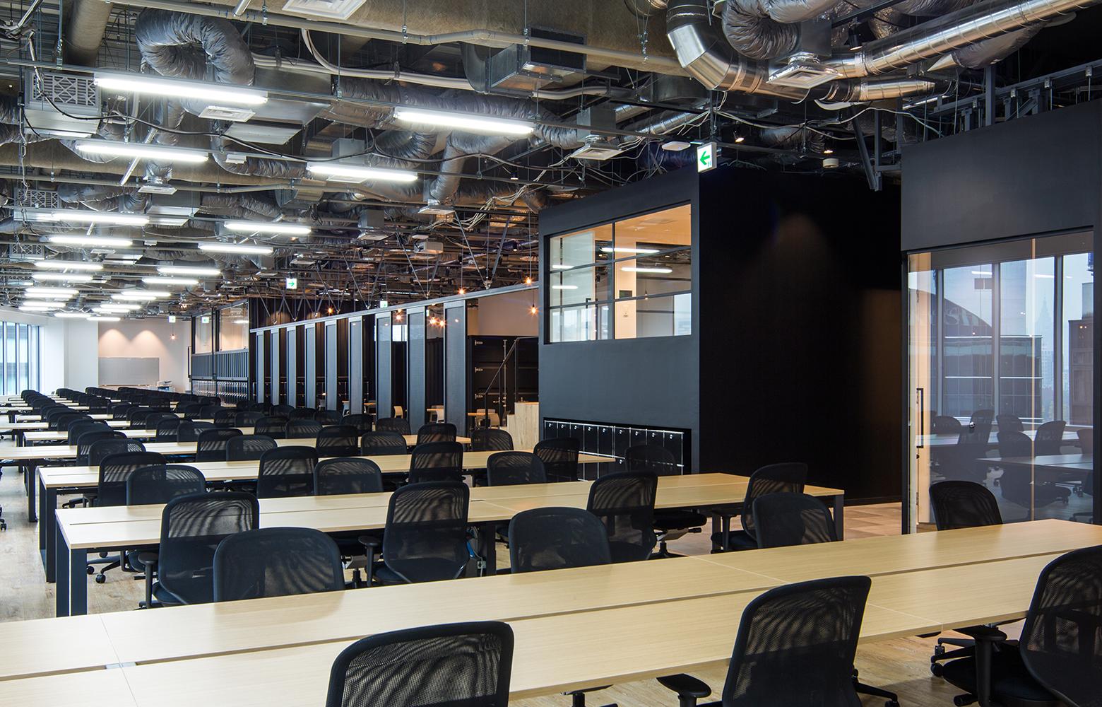 KLab株式会社(Laboratory Office) Work Space_3 デザイン・レイアウト事例