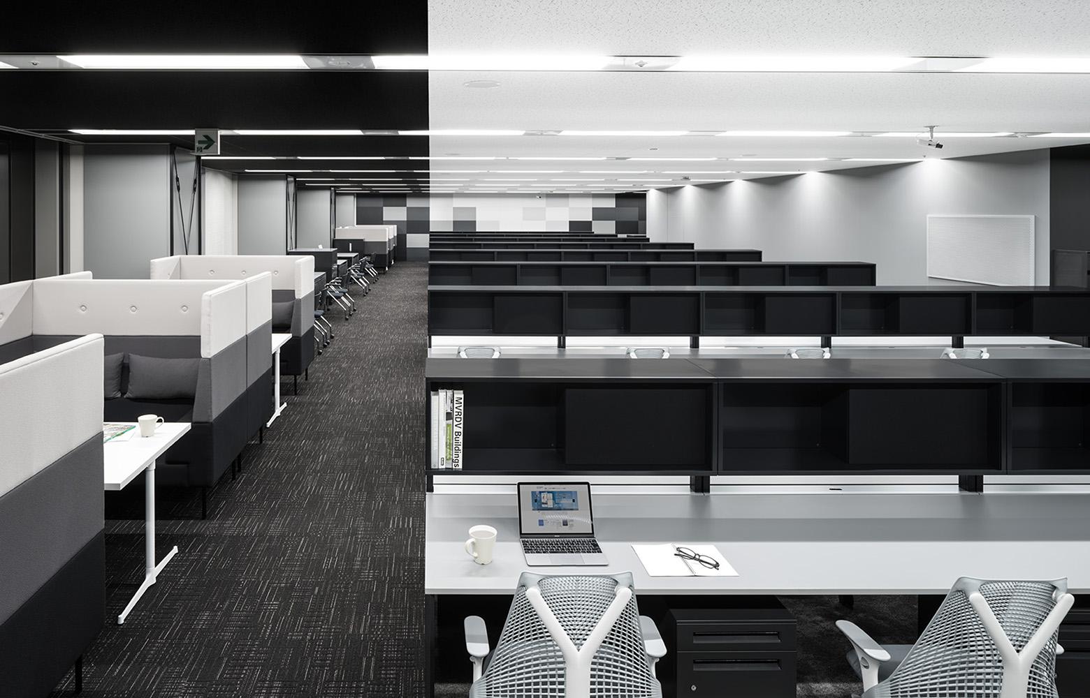 株式会社NTTデータMSE Shinagawa Office Work Space デザイン・レイアウト事例