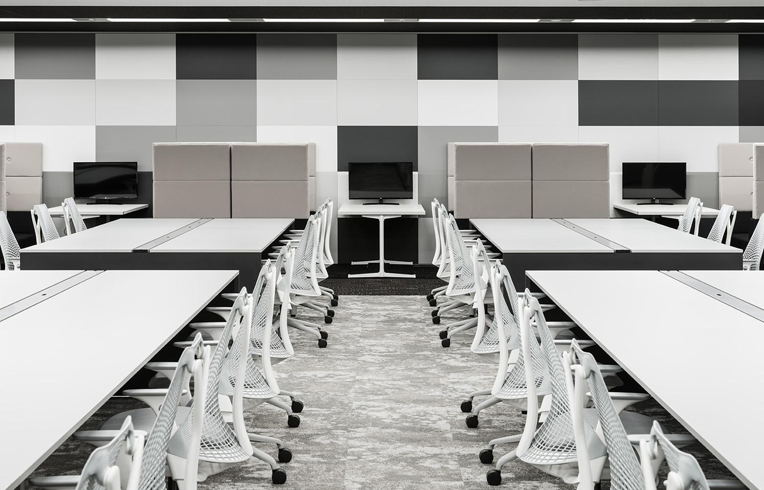 株式会社NTTデータMSE Shinagawa Office Work Space_2 デザイン・レイアウト事例