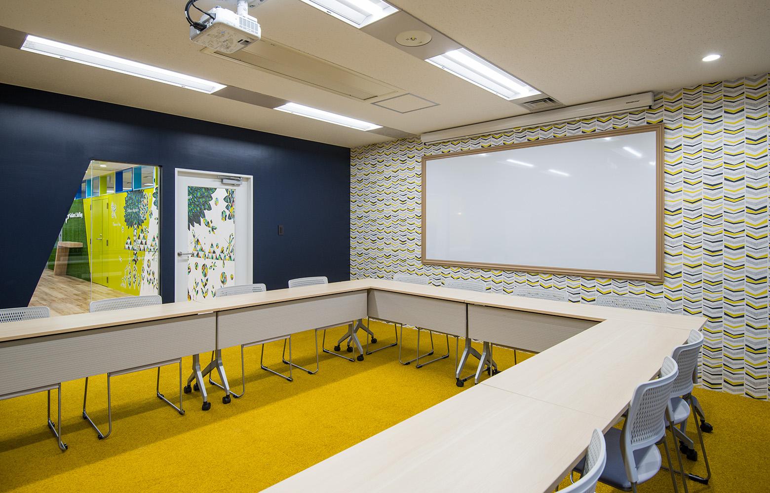株式会社学研エル・スタッフィング Meeting Room デザイン・レイアウト事例
