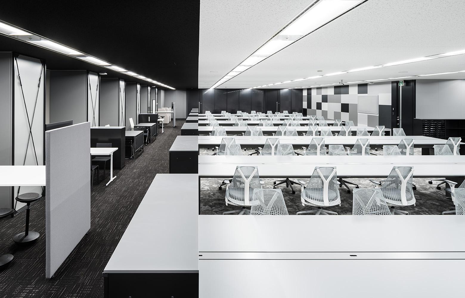 株式会社NTTデータMSE Shinagawa Office Work Space_3 デザイン・レイアウト事例