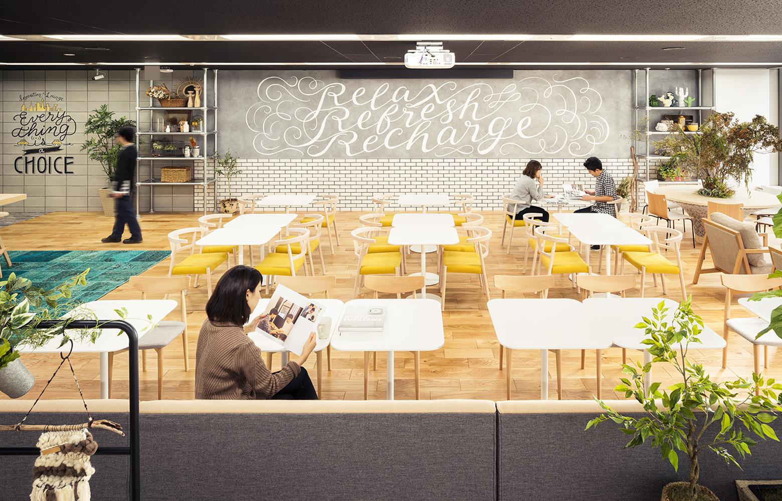 株式会社NTTデータMSE Shinagawa Office Innovation Room デザイン・レイアウト事例