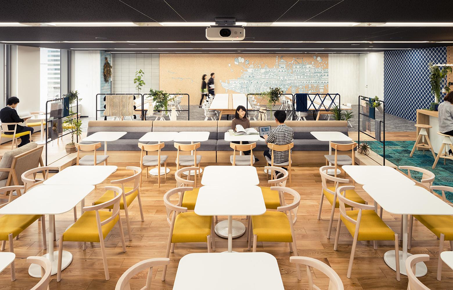 株式会社NTTデータMSE Shinagawa Office Innovation Room_2 デザイン・レイアウト事例