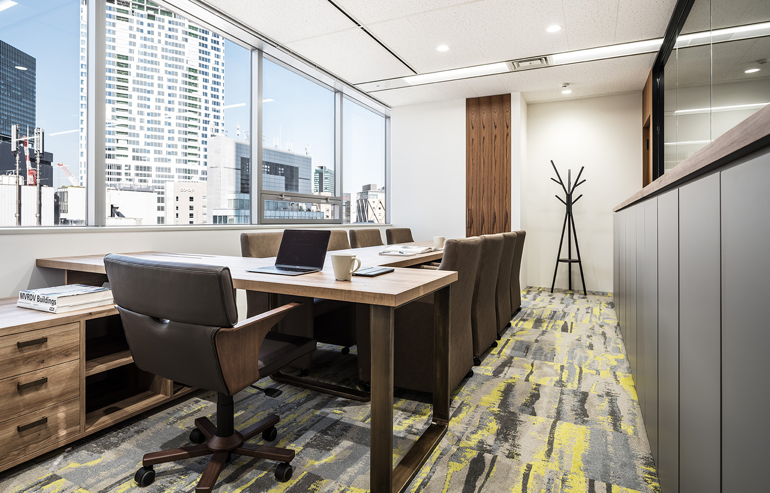 株式会社日本ワークス President's Room デザイン・レイアウト事例