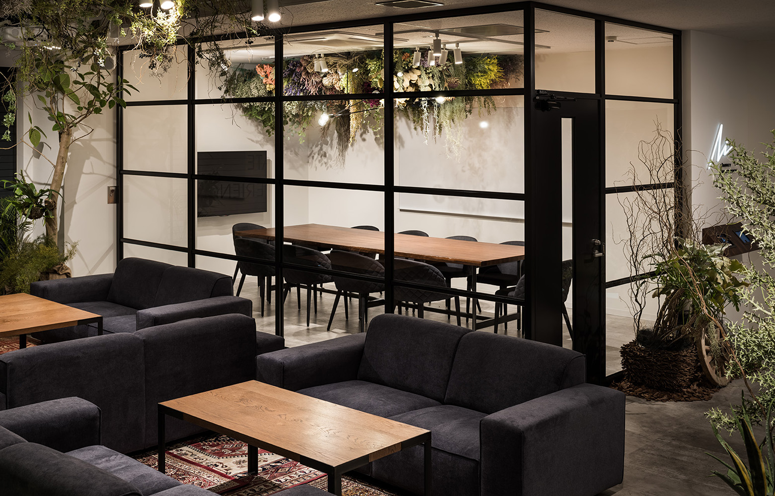 株式会社Avirity Information Open Space & Meeting Room デザイン・レイアウト事例