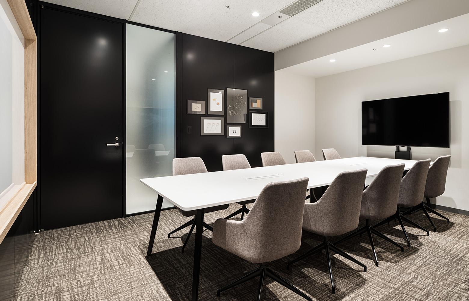 フォースタートアップス株式会社 Meeting Space_2 デザイン・レイアウト事例