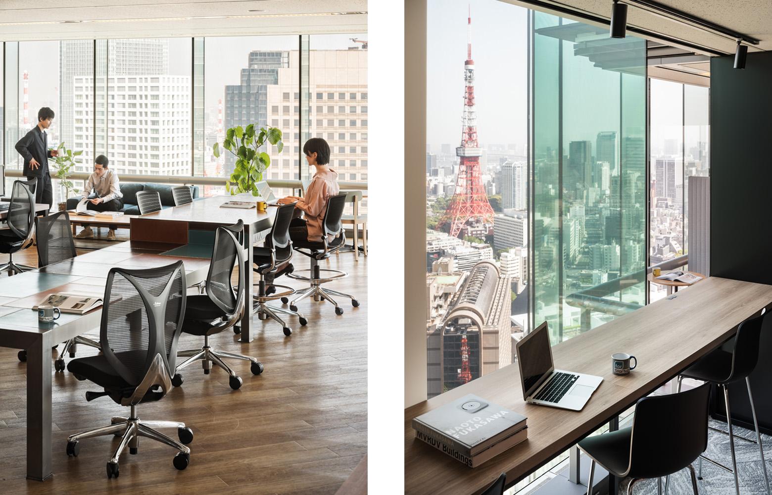 フォースタートアップス株式会社 Work Space_3 デザイン・レイアウト事例