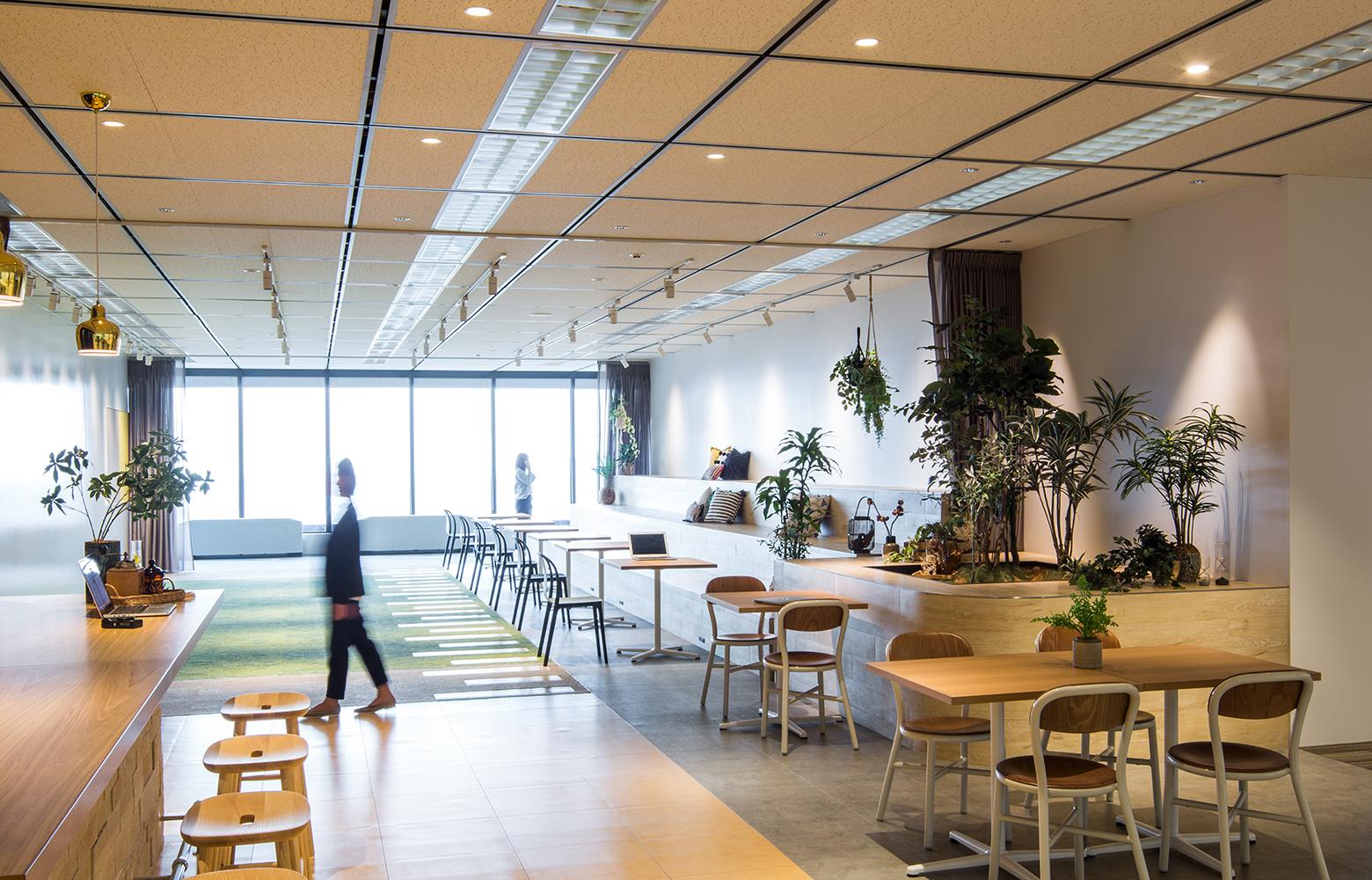 日本電信電話株式会社 横須賀研究開発センタ Free Space デザイン・レイアウト事例