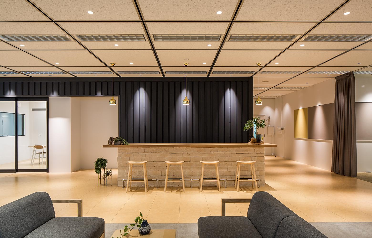日本電信電話株式会社 横須賀研究開発センタ Counter デザイン・レイアウト事例