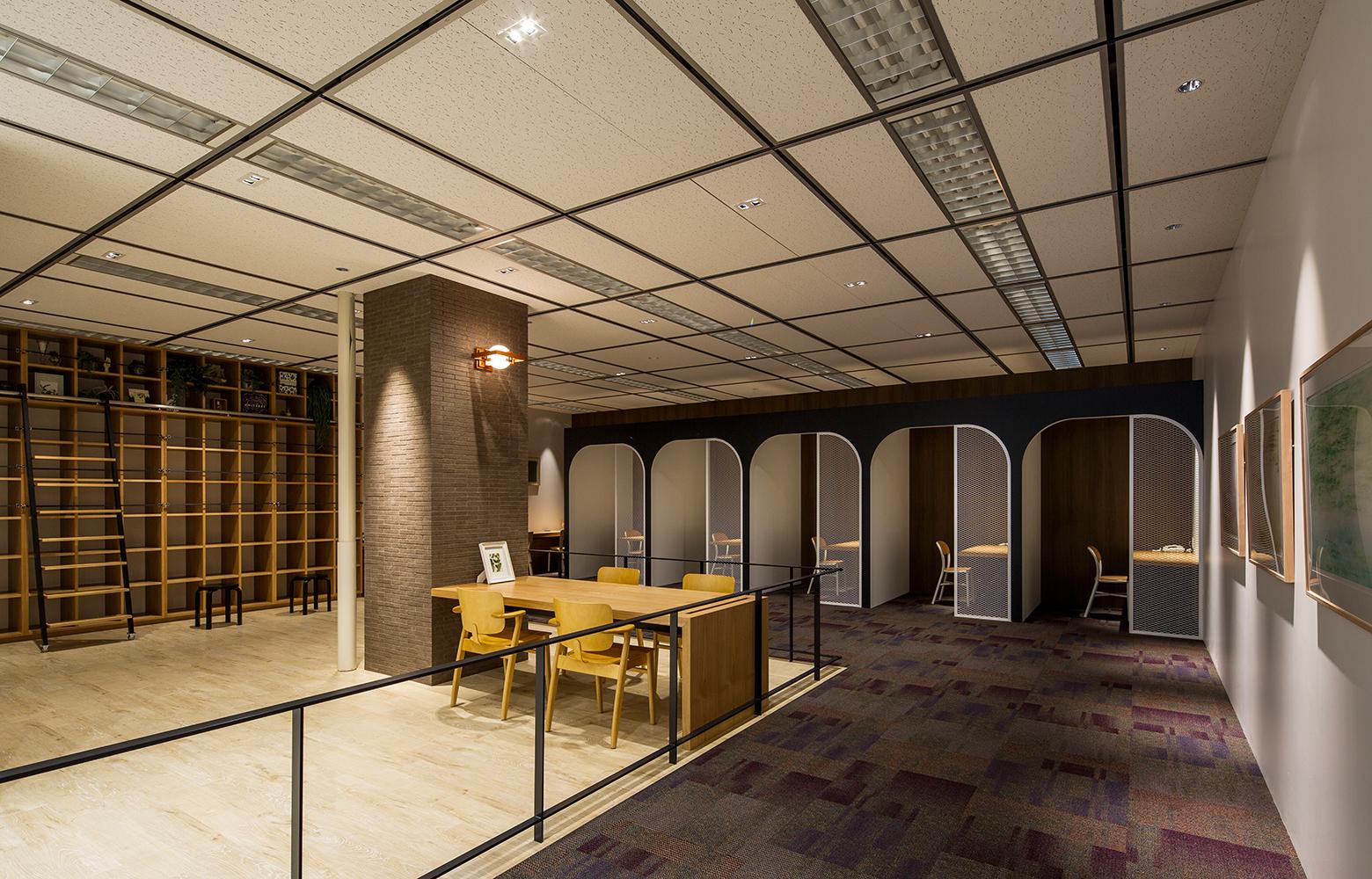 日本電信電話株式会社 横須賀研究開発センタ Personal Space デザイン・レイアウト事例