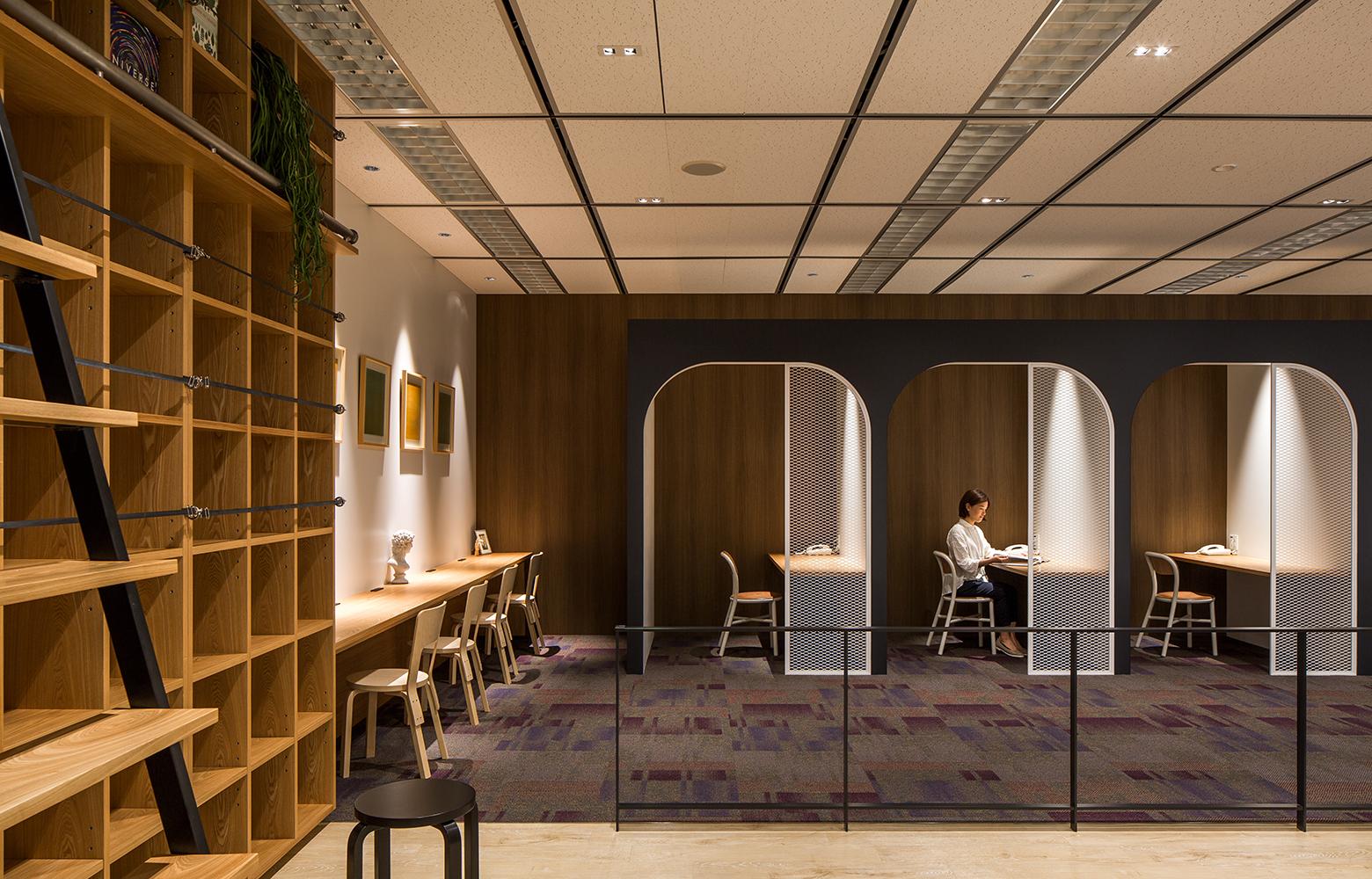 日本電信電話株式会社 横須賀研究開発センタ Personal Space_2 デザイン・レイアウト事例