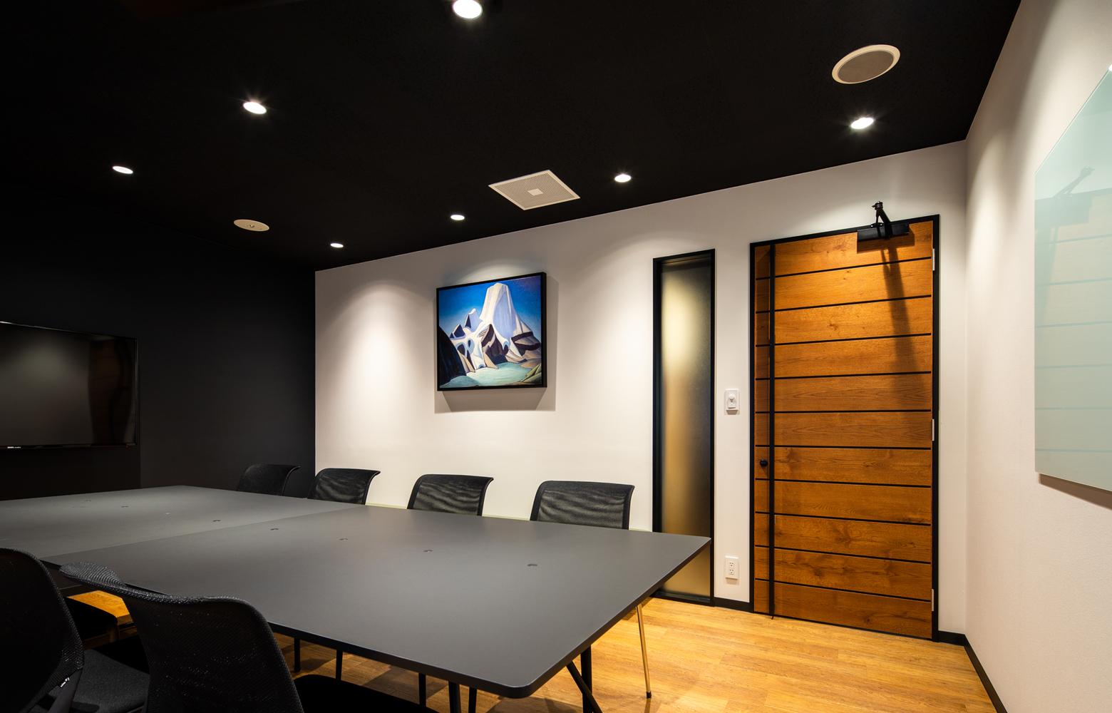 ロブソン株式会社 Meeting Room_2 デザイン・レイアウト事例