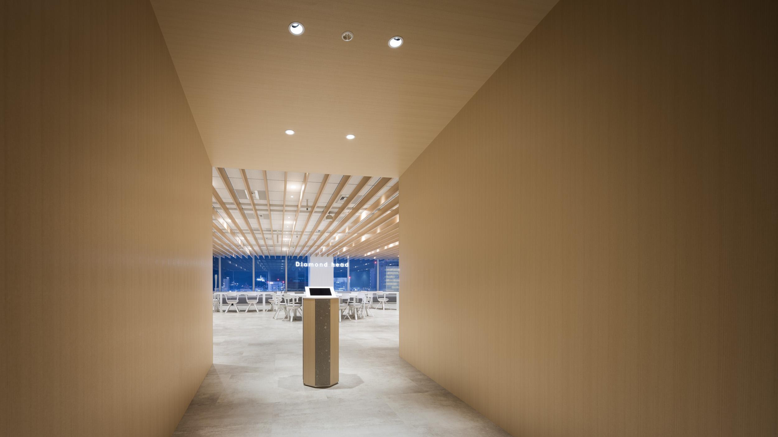 ダイアモンドヘッド株式会社  Sapporo Office Entrance デザイン・レイアウト事例