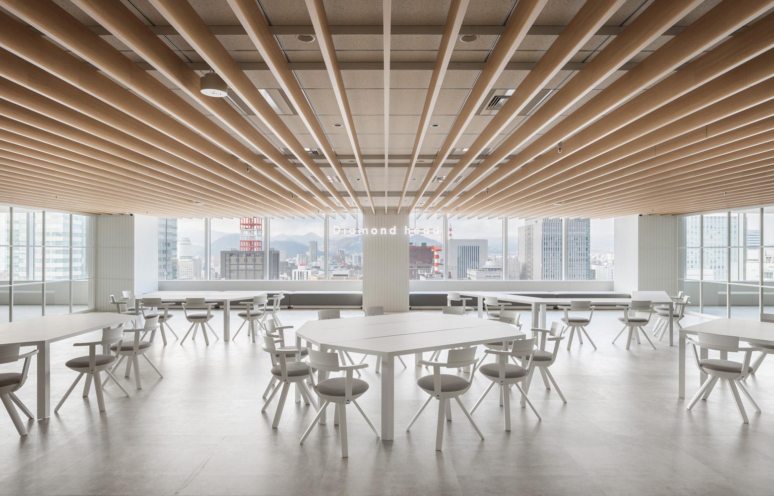 ダイアモンドヘッド株式会社  Sapporo Office Free Space デザイン・レイアウト事例