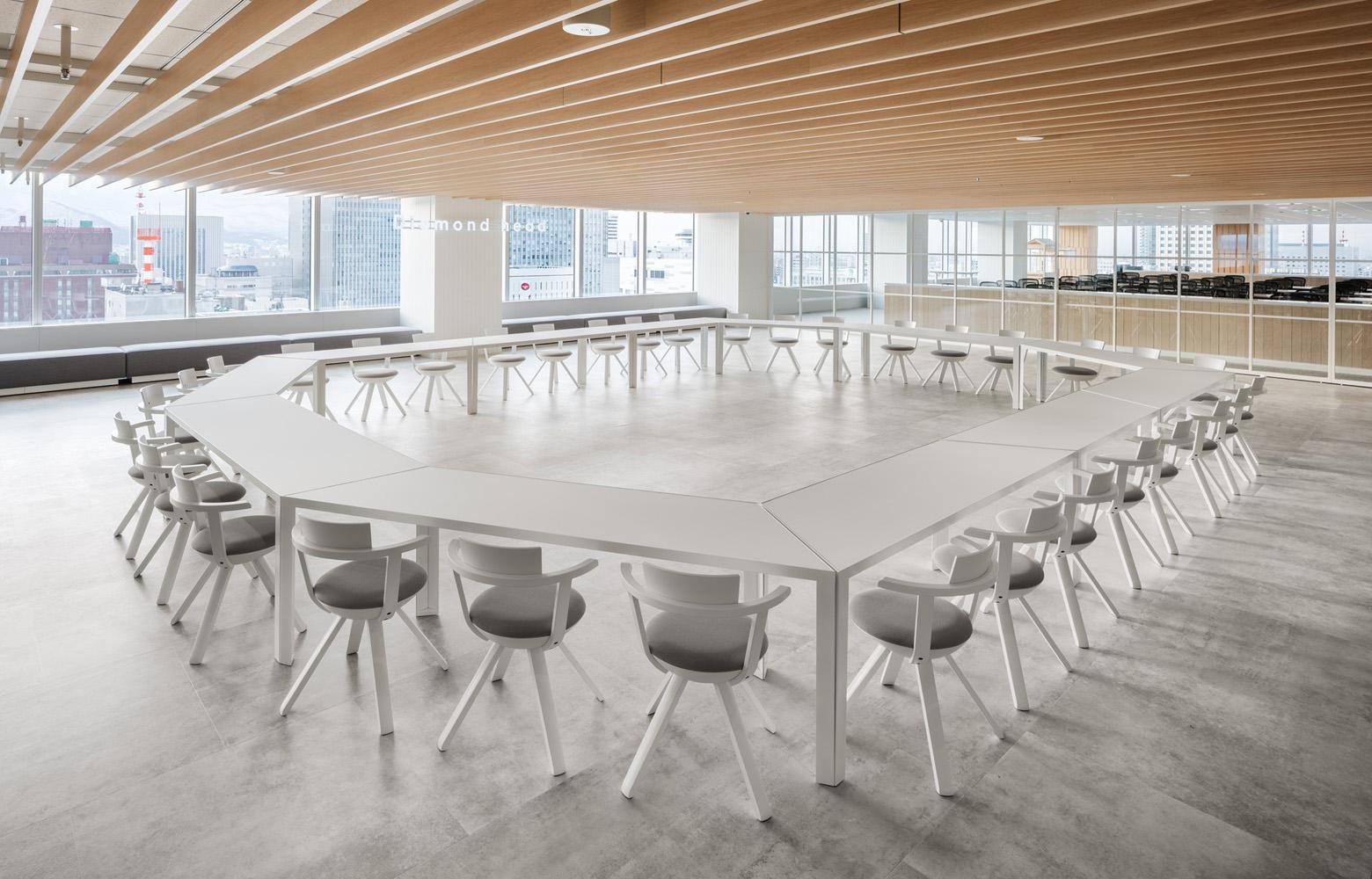 ダイアモンドヘッド株式会社  Sapporo Office Free Space_2 デザイン・レイアウト事例
