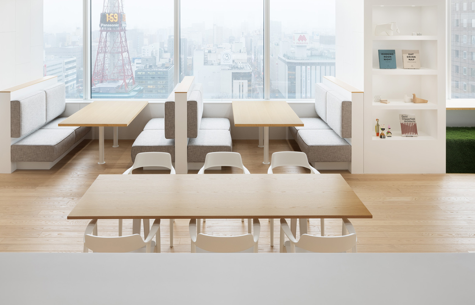 ダイアモンドヘッド株式会社  Sapporo Office Refresh Space_3 デザイン・レイアウト事例