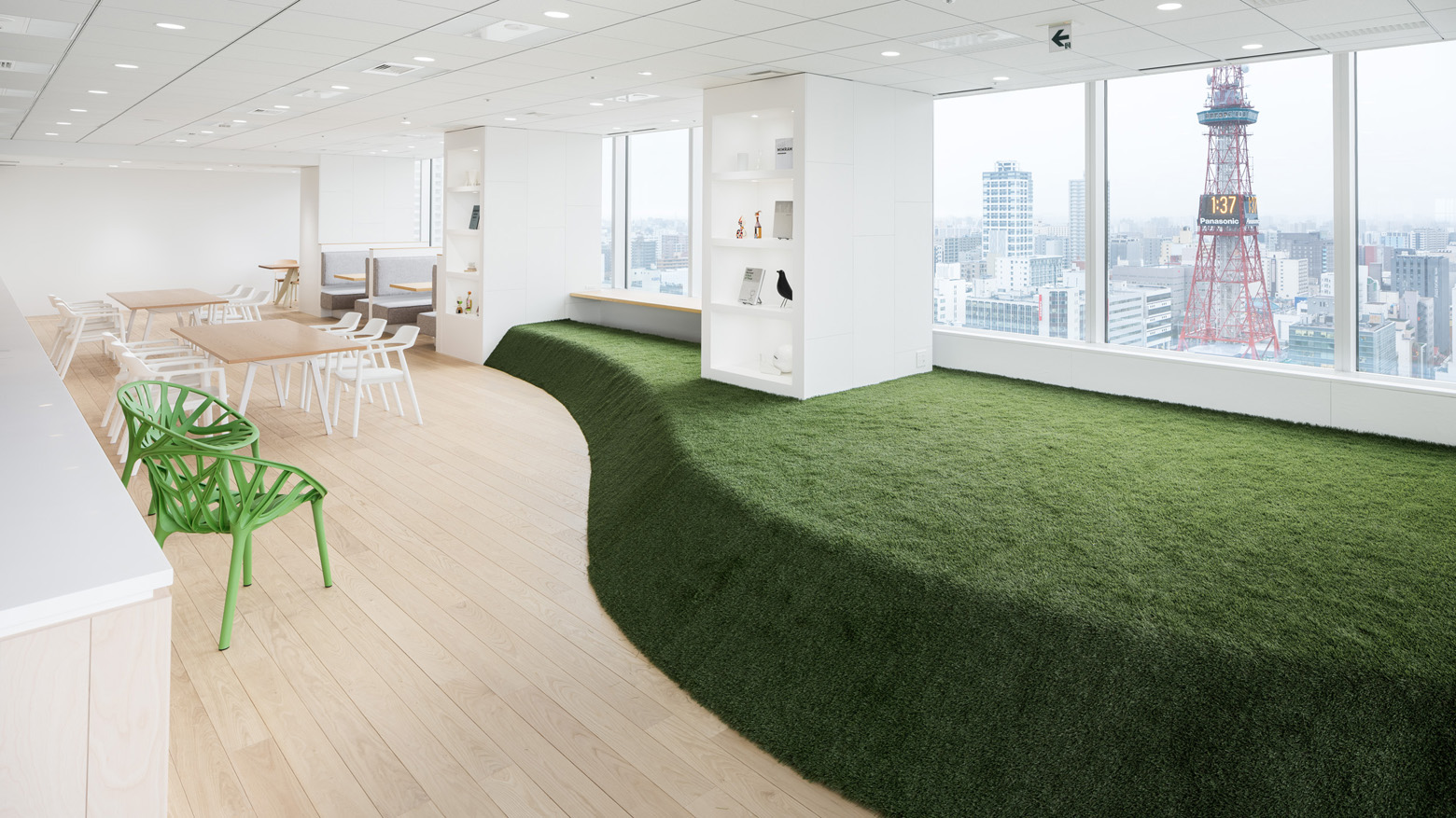 ダイアモンドヘッド株式会社 Sapporo Office床・フロア