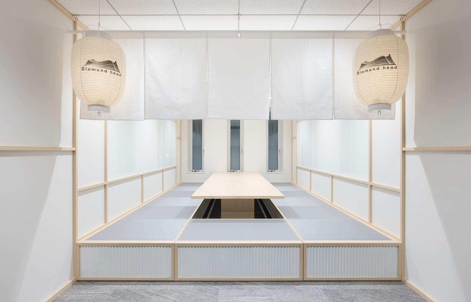 ダイアモンドヘッド株式会社  Sapporo Office Meeting Room デザイン・レイアウト事例