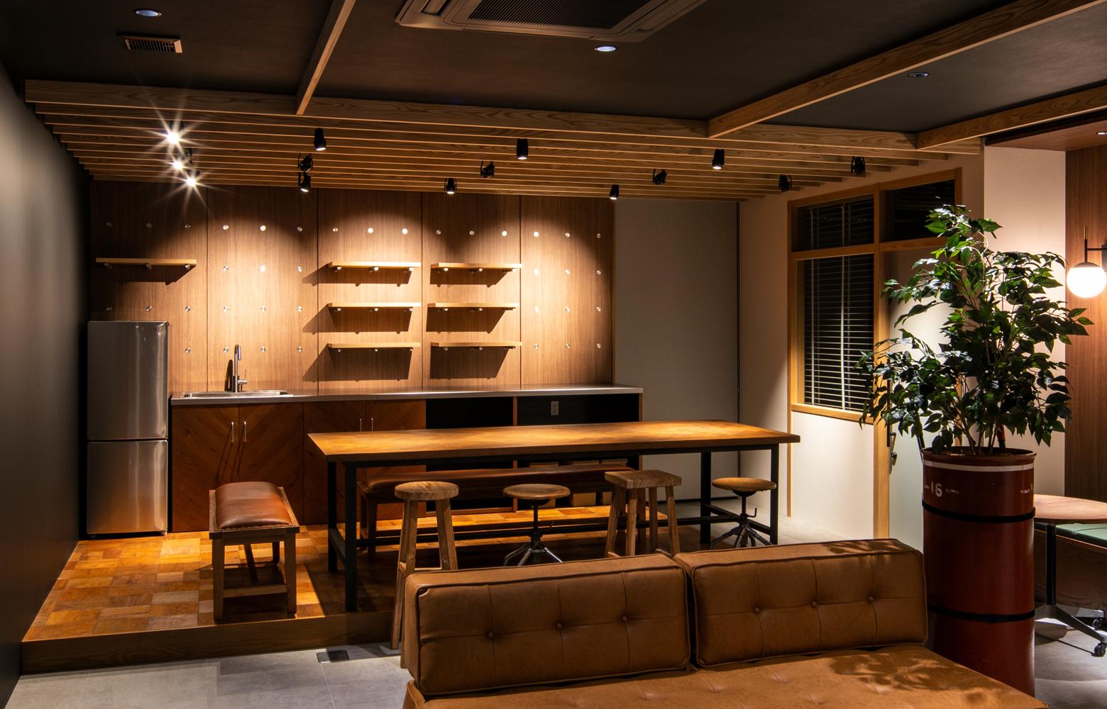 株式会社ヨコハマ機工 Kitchen Space デザイン・レイアウト事例