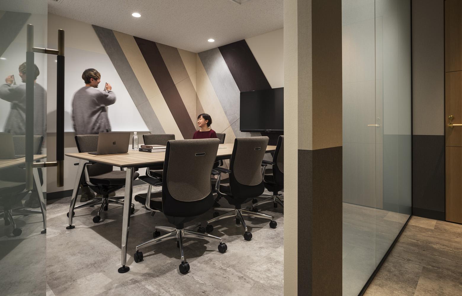 株式会社バンダイナムコセブンズ Meeting Room デザイン・レイアウト事例