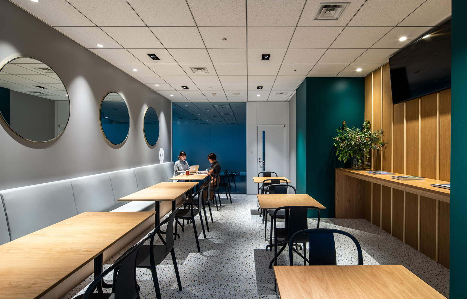 KLab株式会社 Roppongi Office Refresh Space_4 デザイン・レイアウト事例