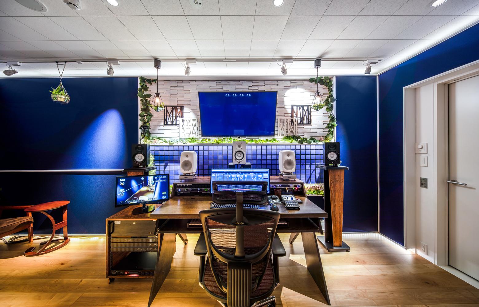 KLab株式会社 Roppongi Office Recording Studio_2 デザイン・レイアウト事例