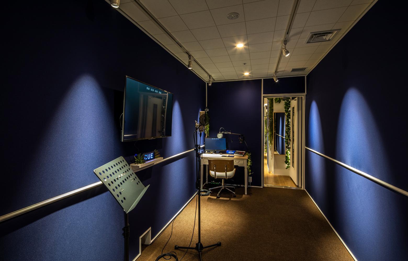 KLab株式会社 Roppongi Office Recording Studio デザイン・レイアウト事例