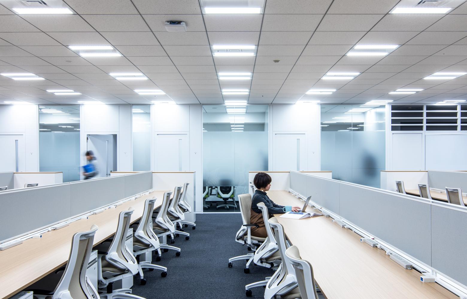 KLab株式会社 Roppongi Office Work Space デザイン・レイアウト事例