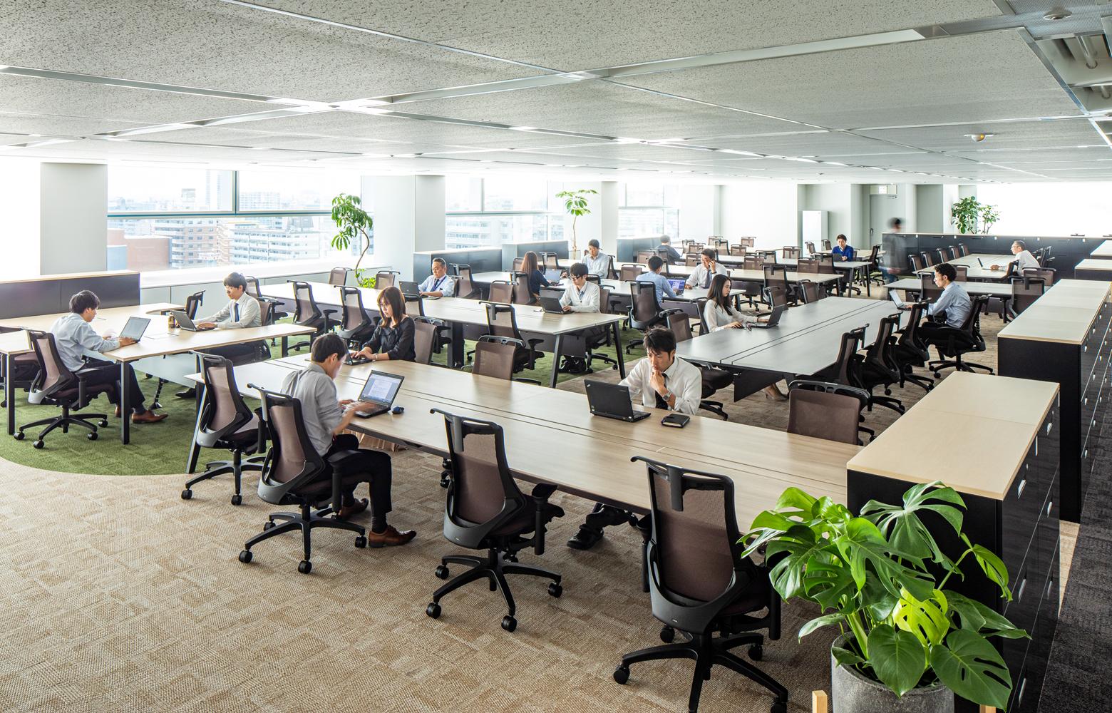 キリンエンジニアリング株式会社 Work Space デザイン・レイアウト事例